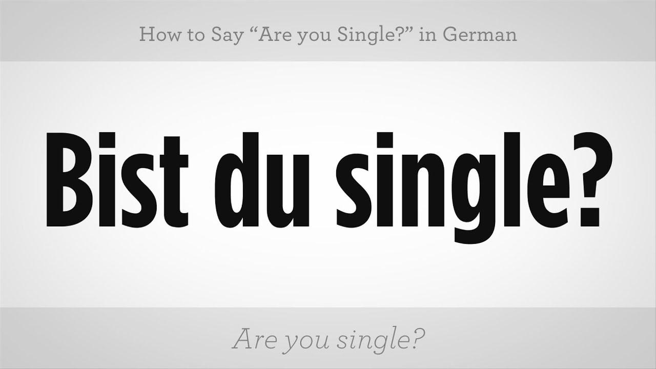 single in german