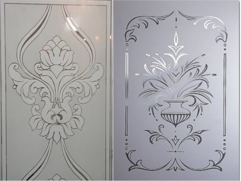 New Glass Etching Designs