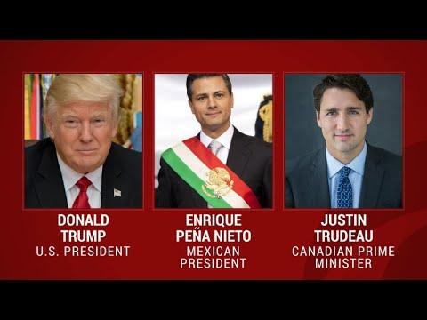 Trump promises to rework NAFTA