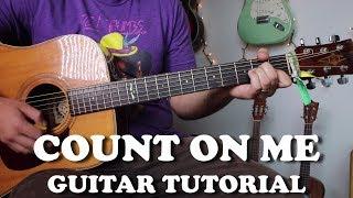 Count On Me - Bruno Mars - Super Easy Beginner Guitar Tutorial