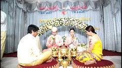 Myanmar wedding ceremony at Yangon Part 2 Aung Paing and Swe zin Latt