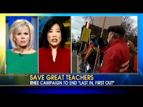 Michelle Rhee Fights to Save Great Teachers