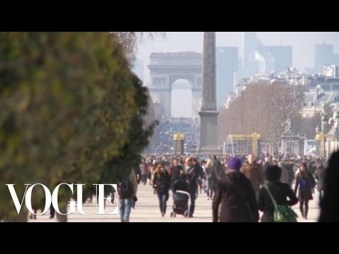 Paris Street Style with Lucinda Chambers, Tamu McPherson, and Alana Zimmer