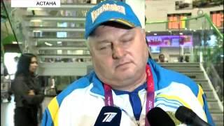 В Астану вернулась паралимпийская сборная РК