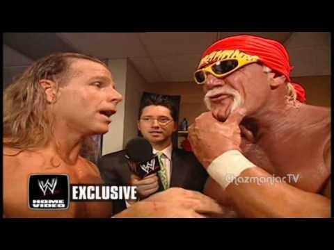 Hulk Hogan and Shawn Michaels Interview