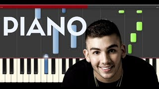 Manuel Turizo Mtz Sola Piano Midi Tutorial Sheet App