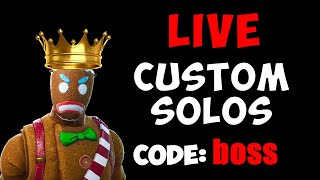NAE Customs Live | Code boss | custom Solos | #customs