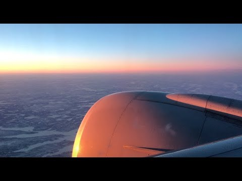 Air China Boeing 777-300ER Economy Class | CA817 | BEIJING - WASHINGTON D.C. | North Pole Route