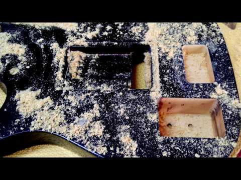 Fernandes Sustainer - Install - YouTube on