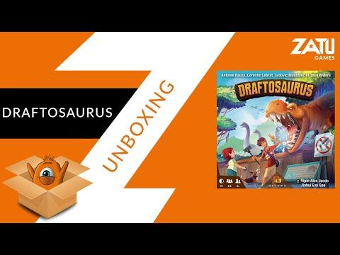 Draftosaurus Unboxing