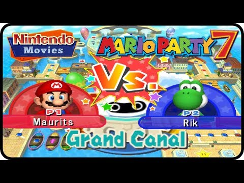 Mario Party 7 - Grand Canal Duel Mode (Multiplayer)