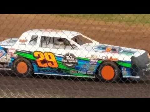 Jeff Crouse Racing.  Rice Lake Speedway.   Little Dream. 8/1/17.  Street Stock