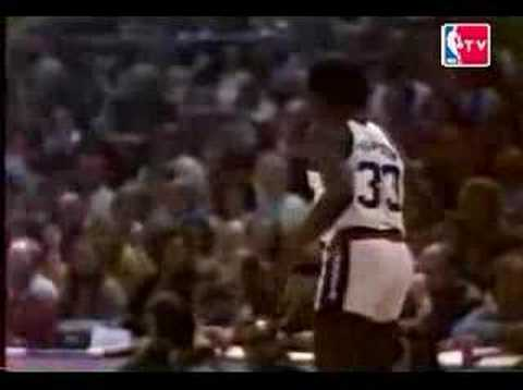 ABA 1976 Slam Dunk Contest part 2 of 2