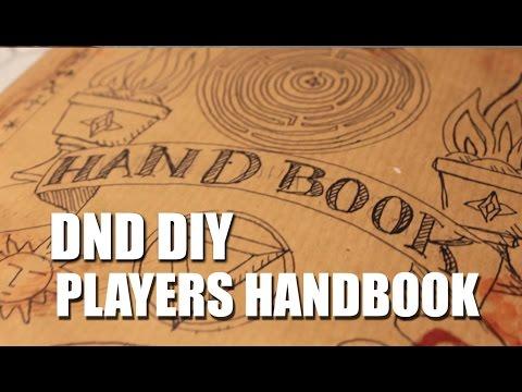 DND - Custom DIY Book Jacket