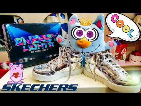 Мои светящиеся кроссовки Скетчерс и кот Софикот. Обзор моих блестящих  светящихся кроссовок Skechers dbd7326e4a1