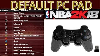 NBA 2K Default PC Pad Configuration TUTORIAL