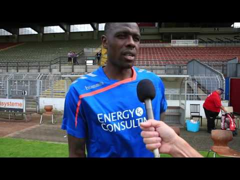 Interview mit Mo Idrissou und Michael Boris (23.08.2015)