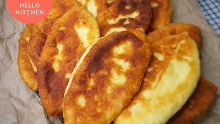 Рецепт в Вашу Копилку Пирожки с Картошкой и Сыром Тесто Как Пух