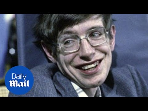 A look at Stephen Hawking's life  Daily Mail