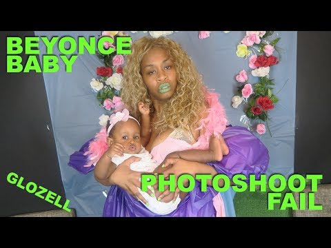 Download Youtube: Beyonce Baby Photoshoot FAIL - GloZell