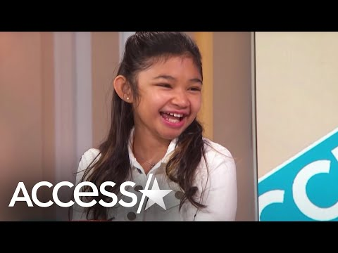 'America's Got Talent': Angelica Hale Reveals How Her Mom Saved Her Life | Access Hollywood