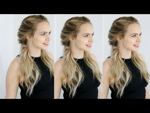 Easy Twisted Pigtails Hair Style Inspired  Margot Robbie