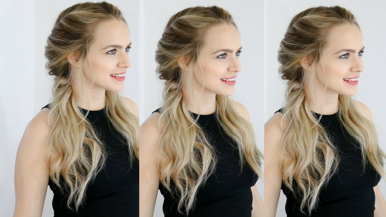easy twisted pigtails hair style