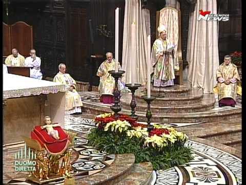 Epifania, il Pontificale presieduto da Tettamanzi