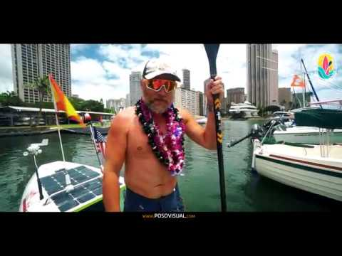 He traveled from California to Hawaii on a paddleboard — and he didn't like what he saw