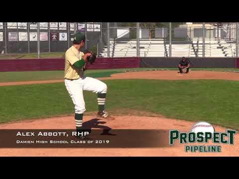 Alex Abbott Prospect Video, RHP, Damien High School Class of 2019