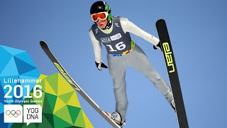 Ski Jumping - Bor Pavlovcic (SLO) wins Men's gold | Lillehammer 2016 Youth Olympic Games
