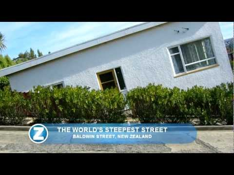 Baldwin Street - The world's steepest street