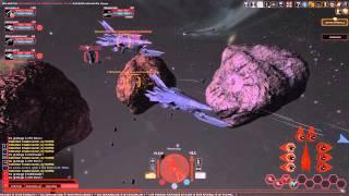Battlestar Galactica Online godmode party