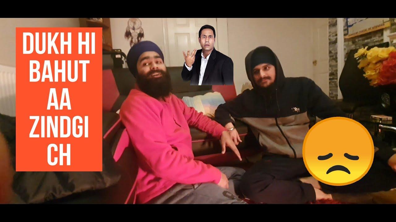 Dukh Hi Bahut Aa Zindgi ch  Punjabi Man DJ mix Nonstop  Kam Faidaak