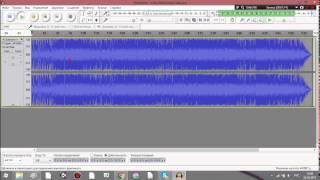 Уроки по Audacity #3 - изменение тона и скорости воспроизведения