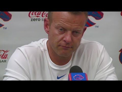 Coach Bryan Harsin Discusses The Broncos' Postponed Season For The First Time With The Media