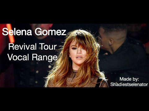 Selena Gomez Vocal Range: Revival Tour