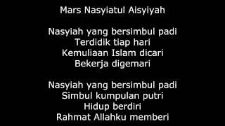 MARS NASYIATUL 'AISYIYAH Mp3