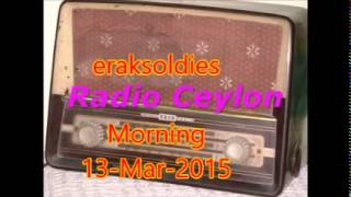 Radio Ceylon 13-03-2015~Friday Morning~01 Patriotic Songs