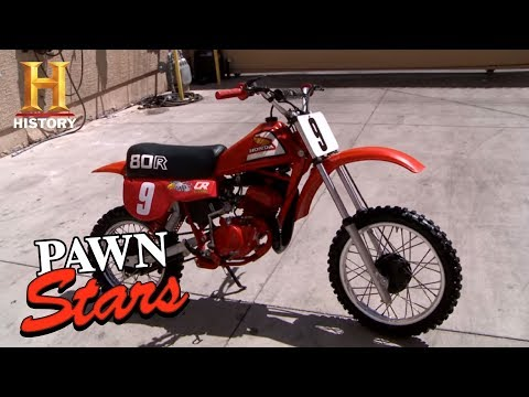 Pawn Stars: 1981 Honda CR80 Elsinore