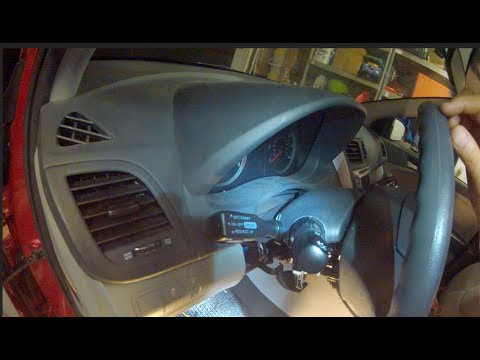 Rostra 250-1862 cruise control kit installed in 2014 Hyundai Accent