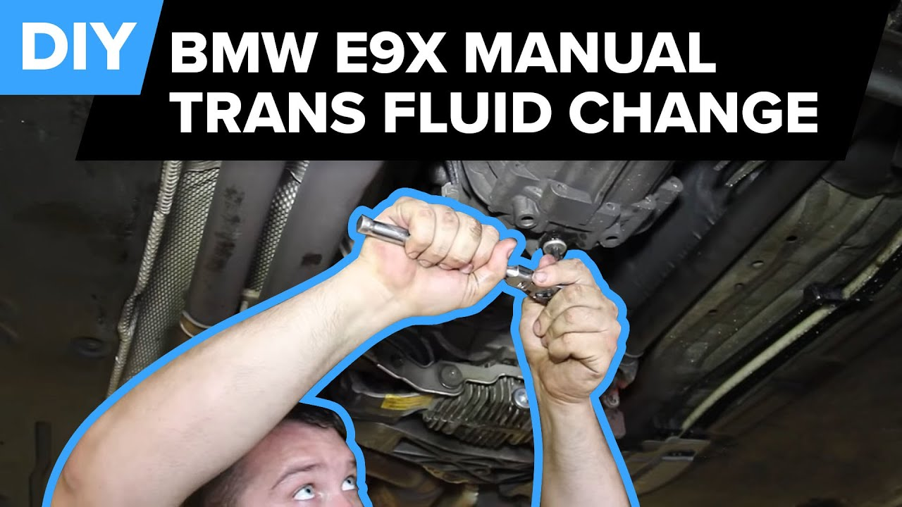 bmw manual transmission fluid change quick easy e90 e92 e93 rh youtube com 2000 Explorer Transmission Oil Change Ranger Manual Transmission Drain Plug