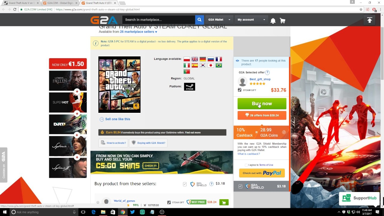 save loads of money on games how to purchase on g2a youtube