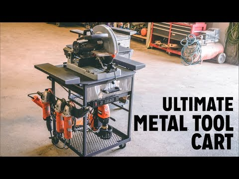 Ultimate Maker Metal/ Welding Tool Cart Build