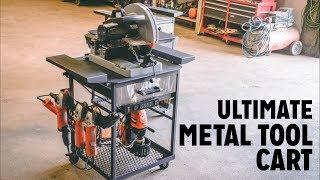 Ultimate Maker Metal/ Welding Tool Cart Build