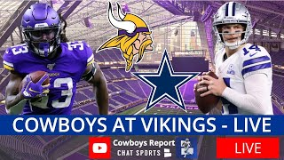 Cowboys vs. Vikings Live Streaming Scoreboard, Play-By-Play, Highlights & Stats | NFL Week 11