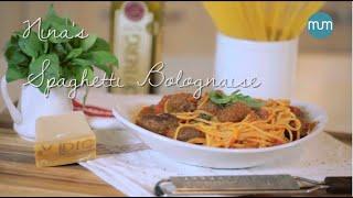 My Easy Cooking - Nina's Spaghetti Bolognaise