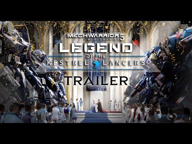 MechWarrior 5  Mercenaries: Legend of the Kestrel Lancers Expansion Trailer