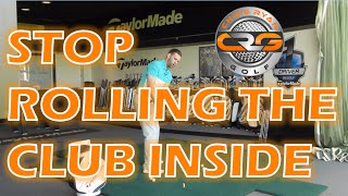 HOW TO STOP ROLLING THE CLUB INSIDE