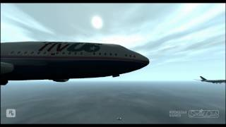 a flight from liberty city to los santos
